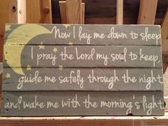 Now I Lay Me Down to Sleep by KTKustomKreations on Etsy, $59.00
