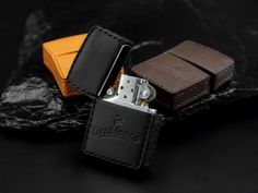 match-box | Rakuten Global Market: Orobianco leather leather Zippo lighter case/writer sold separately