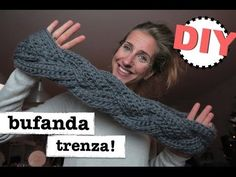Cómo hacer una bufanda trenzada para nivel principiantes | Manualidades
