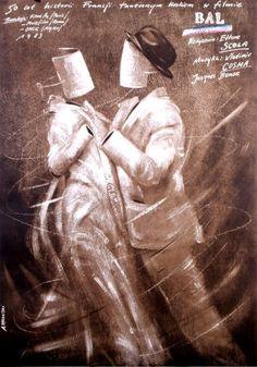 Le Bal, Polish Movie Poster