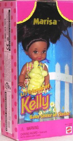 Amazon.com: Barbie MARISA Li'l Friend of KELLY Doll (1996): Toys & Games