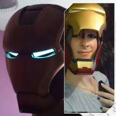 Electronic Iron Man Helmet Tutorial