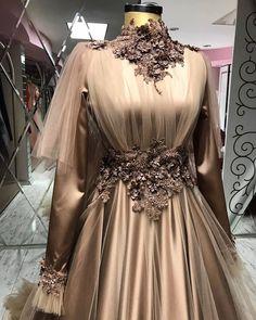 Hijab Evening Dress, Hijab Dress Party, Muslim Wedding Dresses, Evening Dresses, Modest Fashion, Hijab Fashion, Fashion Dresses, Latest Wedding Gowns, African Wedding Attire