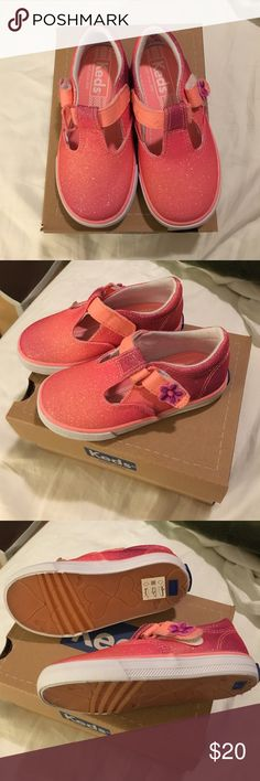 NWT Keds Daphne Coral Sugar Dip Shoes sz Toddler 7 NWT Keds shoes. Never worn. Perfect condition. Very cute for any little fashionista! Keds Shoes Sneakers