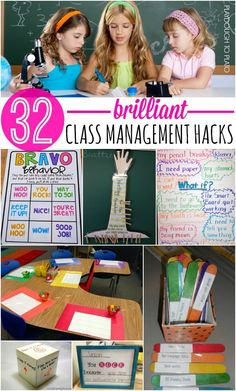 32 Must-Try Classroom Management Tips - classroom management is a critical piece of any successful school year...