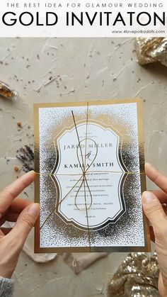 Wedding Gifts White and gold wedding invitations Handmade Wedding, Diy Wedding, Wedding Gifts, Dream Wedding, Gold Wedding Theme, Wedding White, Wedding Vows, Luxury Wedding, Fall Wedding