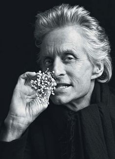 Michael Douglas (1944) - American actor and producer, primarily in movies and television. Photo by Inez VanLamsweerde and Vinoodh Matadin