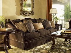 Another Tommy B Lisa Would Rove Ivory Key Coco Reef Sofa Lexington