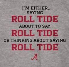 Roll Tide Football, Alabama Football, Alabama Baby, Alabama Crimson Tide, University Of Alabama, 50 Party, Sports Pictures, Fairy Tail, Silhouette Cameo