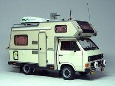 maquetas de caravanas - Buscar con Google Truck Camper, Camper Van, Vw T, Volkswagen, Vw Motorhome, Vw Wagon, Kombi Home, Vw Caravelle, Combi Vw