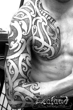maori tattoo designs Calf is part of Calf Tattoo Designs For Men Polynesian Calf Tattoo - Maori Tattoo Gallery Zealand Tattoo Tribal Arm Tattoos, Celtic Tattoos, Arm Tattoos For Guys, Maori Tattoos, Kiwi Tattoo Designs, Half Sleeve Tattoos Designs, Tongan Tattoo, Samoan Tattoo, Design Websites