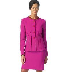Patron veste femme butterick