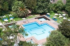 hilton addis ababa pool in ethiopia