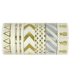 Allydrew Washi Tapes Decorative Masking Tapes, Set of 6, ... http://www.amazon.com/dp/B017JJ6PK8/ref=cm_sw_r_pi_dp_xodgxb0AQJQKW