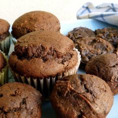 2 Ingredient Skinny Chocolate Pumpkin Muffins and Cookies Weight Watchers Points SmartPoints