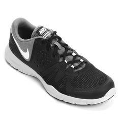 ca2878307a O Tênis Nike Core Motion Tr 3 Mesh Preto e Cinza é desenvolvido com  material que
