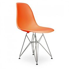 Eames Inspired Style Orange DSR Eiffel Chair - Eames Inspired from Only Home UK