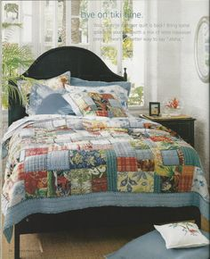 island patchwork quilt | for the home | pinterest | patchwork