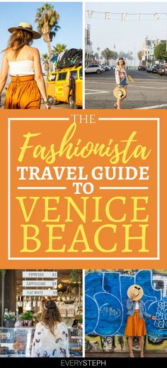 Fashionistas will love Venice Beach, Los Angeles. Discover the most glamorous and instagrammable locations in Venice Beach + a full list of things to do in Venice Beach, where to eat and where to shop. Locations include the famous Venice Beach sign, Abbot Kinney blvd with his hip shops, the Venice Beach Boardwalk & the beach, of course!   venice beach California photography   Venice Beach outfit   Abbot Kinney style   Venice Beach fashion editorial #venicebeach #losangeles - via @everysteph