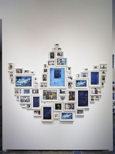 Collection of picture frames to create a bigger picture – addidas example shown