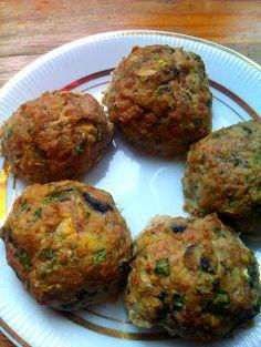 Klopsy z indyka i pieczarek Meatloaf, Ham, Muffin, Turkey, Beef, Breakfast, Ethnic Recipes, Food, Meat