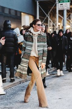 STREET STYLE NYFW By College Vintage #NYFW #OliviaPalermo