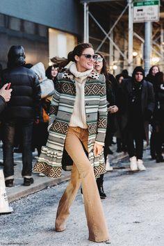 New_York_Fashion_Week-Fall_Winter_2015-Street_Style-NYFW-Olivia_Palermo_Ponytail-2