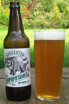 Hopopotamus from Broughton Ales. I am delighted to say that this beer lives up to its wonderful name. It is dry and hoppy and very drinkable. It is, perhaps, not as complexly sophisticated as some of the other beers on this board, but I really like it. 9/10