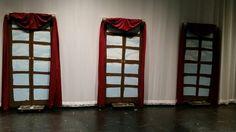 Castle windows The Little Mermaid Musical, Castle Window, Stage Design, 1920s, Jr, Drama, Windows, Inspiration, Ideas