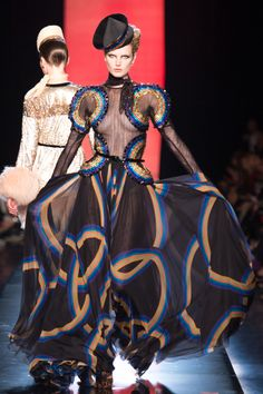 Made me go whoa. Fav picks from Jean Paul Gaultier Fall 0213 Couture Fashion Show