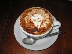 """Káva a její umění. """"Coffee art."""" :)"""
