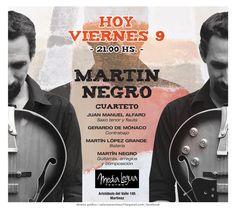 Martín Negro Cuarteto / Teatro de la Media Legua - Martínez