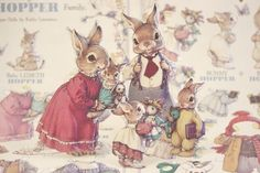 The sweetest paper dolls ever. (By Kathy Lawrence called The Hopper Family) by Wirth, L