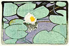 Walter J. Phillips (1884-1963) The Lily, 1925