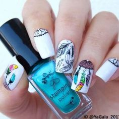 Fabulous Chrome Nails You Must TryPretty Chrome Nail Art Designs you've seen the chrome nails trend rock the web for the past few months. It's one amongst the foremost well-liked and putting manicures appearance to revolutionize your nail game. Floral Nail Art, Colorful Nail Art, Trendy Nail Art, Cool Nail Art, Great Nails, Fun Nails, Winter Nail Designs, Nail Art Designs, Spring Nails