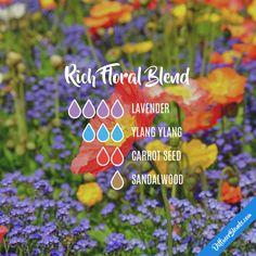 Rich Floral Blend - Essential Oil Diffuser Blend