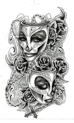 tattoo sketches | feminine tattoo design by almigh t designs interfaces tattoo design ... #tattoosforwomenhalfsleeve