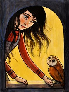 """Owl Friend"" by Kelly Vivanco - Art"