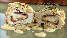 Slow Cooker – Chicken Cordon Bleu - Guest post: from Jonna at Get Off Your Butt and Bake