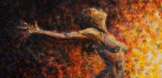"Paintings By Singapore Artist ""Nik Helbig"" 1969 - Fine Art and You Akiane Kramarik Paintings, Heaven Painting, Woman Painting, Beautiful Paintings, Figurative Art, Art Blog, Impressionism, Illinois, Landscape Paintings"