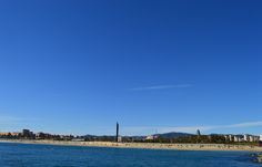 Una mirada atrás Natural, Barcelona, Spain, Beach, Water, Summer, Outdoor, Life, World