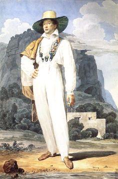 Брюллов К.. ==Портрет В.А.Перовского. 1824