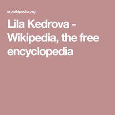 Lila Kedrova - Wikipedia, the free encyclopedia
