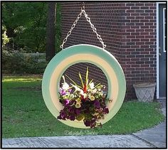 Garden Ideas With Tires 20 diy tire planters that will catch your attention | the o'jays