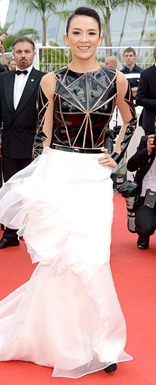 5b2eeb29952 Red Carpet 24 7  What Stars Are Wearing. Cannes Film Festival 2014Zhang ZiyiCelebrity  ...