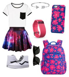""""""""""" by nikkisfashion273 on Polyvore featuring Vera Bradley, Vans, Ray-Ban, Bling Jewelry and Fitbit"""