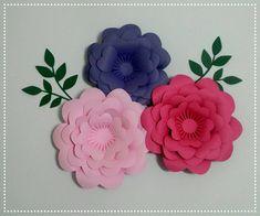 4 Flores 3d 14cm