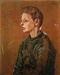 Portrait of Allan Stein // Picasso // 1906