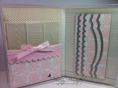 SU stamp case into a holder for Adorning Accents Edgelits and matching Embossing folders