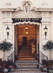 Cypress Inn in Carmel, CA - The MOST dog friendly hotel in Carmel. Not to mention that Carmel is one of the most dog friendly cities. Definitely worth the stay! Carmel California, California Travel, Northern California, California Ranch, California Living, Hotel California, The Places Youll Go, Great Places, Places To Go